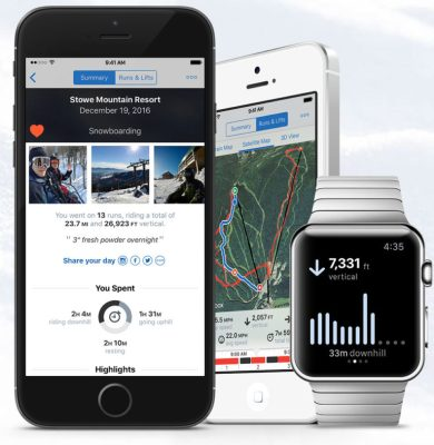 best free apps for ski vacations