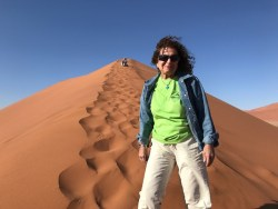ecoXplorer Evelyn Kanter on Dune 45 Namibia