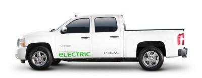 via electric truck
