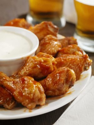 Super Bowl Sunday chicken wings
