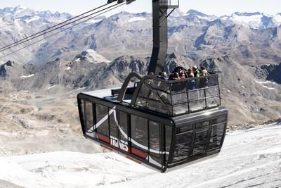 world's highest tram