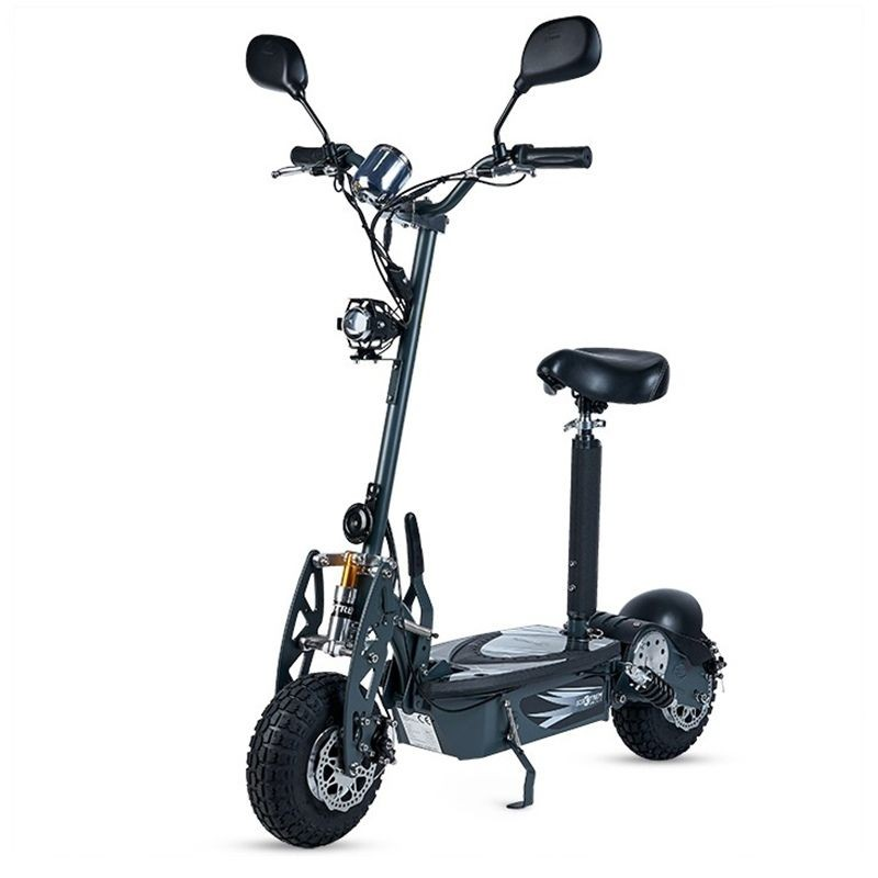 patinete scooter electrico tipo moto motor 350w color