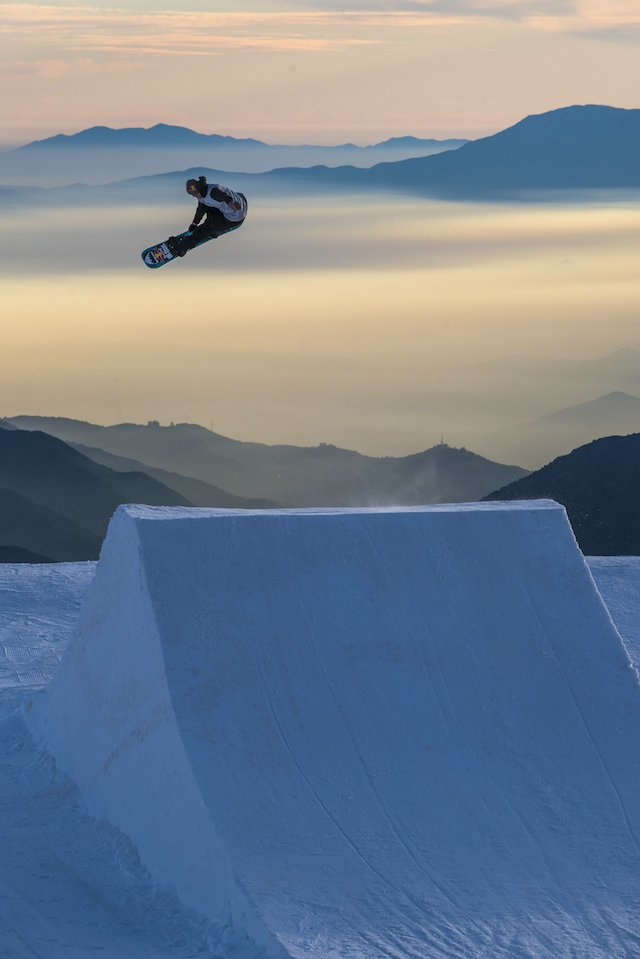 Marko Grilc performs a Frontside 360 Nosebone at Valle Nevado in Santiago, Chile on August 1, 2016 // Juan Luis De Heeckeren/Red Bull Content Pool // P-20160805-00145 // Usage for editorial use only // Please go to www.redbullcontentpool.com for further information. //  // Photos/Red Bull Content Pool // P-20160808-00667 // Usage for editorial use only // Please go to www.redbullcontentpool.com for further information. //