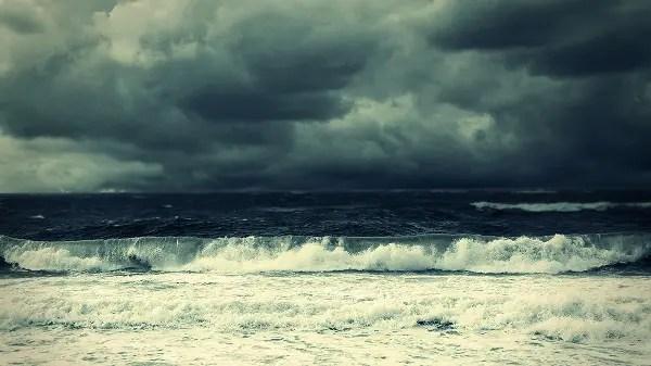 sea rain