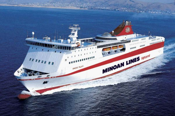 Minoan lines, Μινωικές Γραμμές