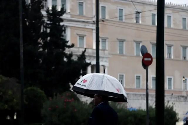 Βροχή, καταιγίδα, Αθήνα