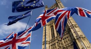 skynews brexit flags westminster 4809232