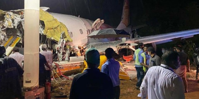 Συντριβή αεροσκάφους στην Ινδία