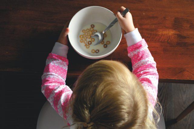 πρωινό παιδιού