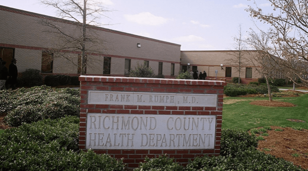 Richmond County Health Department East Central Health District