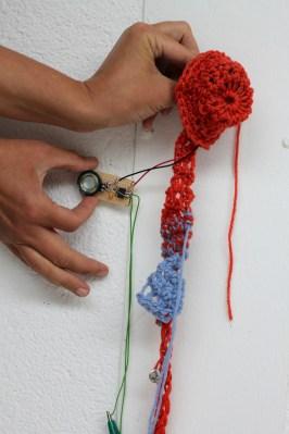 Noisy crochet workshop / CC BY