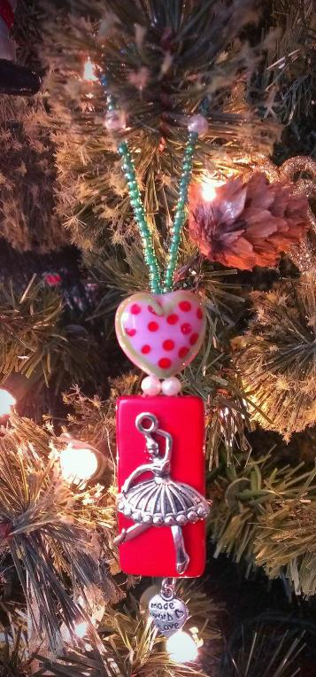 Sugar Plum Fairy Ornament from eCrafty.com Design by Richelle Simms