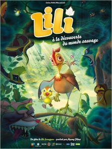 affiche Lili a la decouverte du monde sauvage