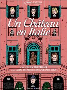 affiche un chateau en Italie