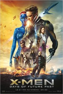 affiche X men days of futur past