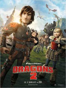 affiche Dragon 2