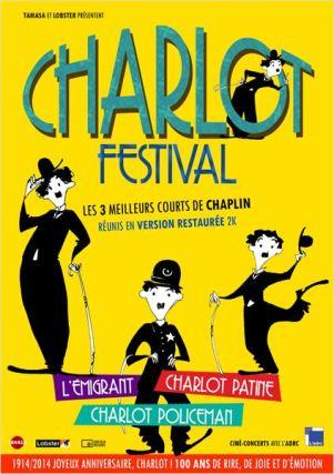 Affiche Charlot Festival