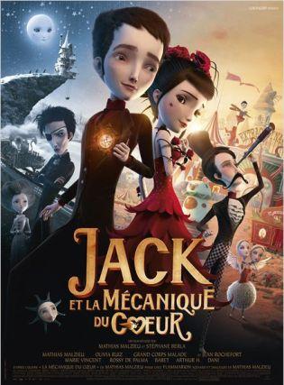 affiche Jack et la mécanique du coeur