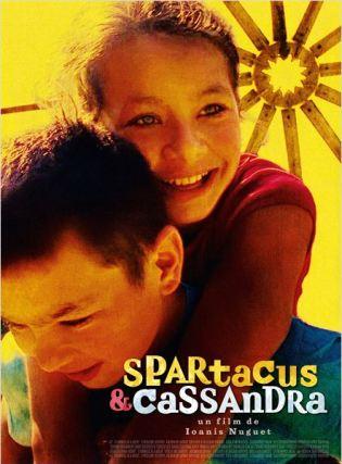 Affiche Spartacus et Cassandra
