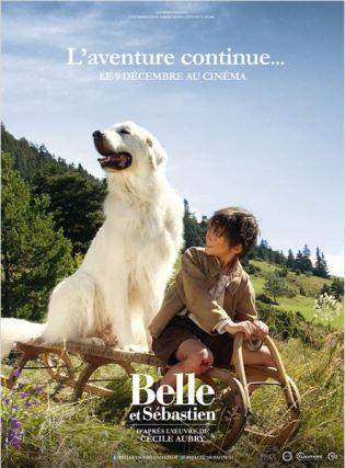 Affiche Belle et Sébastien 2