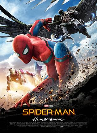 SPIDER MAN : HOMECOMING