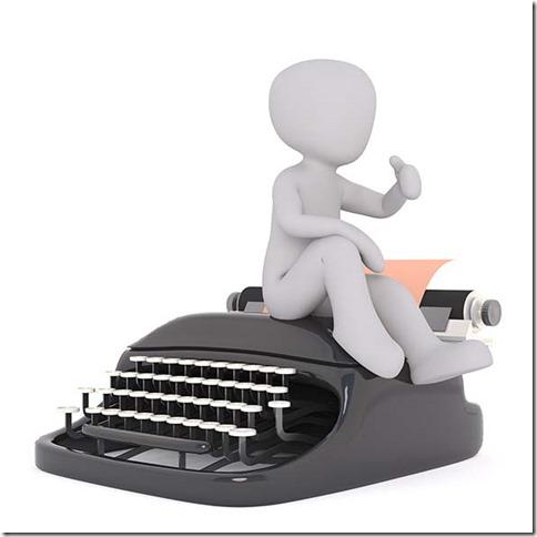 bonhomme-blanc-machine-écrire