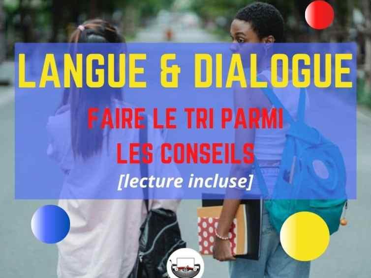 La langue et les dialogues : quelques clés