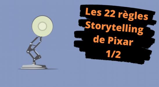 Les 22 règles Pixar pour écrire un roman