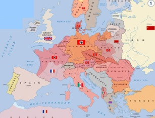 Carte guerre 39-45