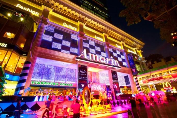 tempat belanja murah di bangkok thailand - amarin plaza