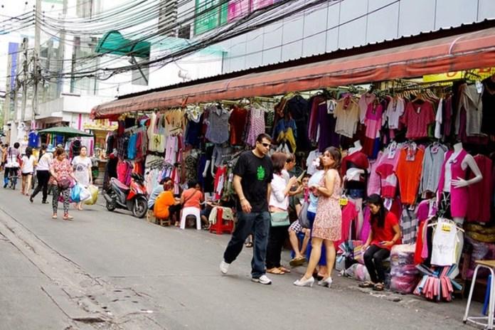 tempat belanja murah di bangkok thailand - pratunam market