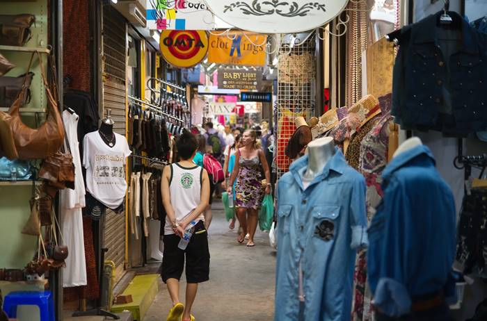 tempat wista di Bangkok terbaik - Chatuchak Market