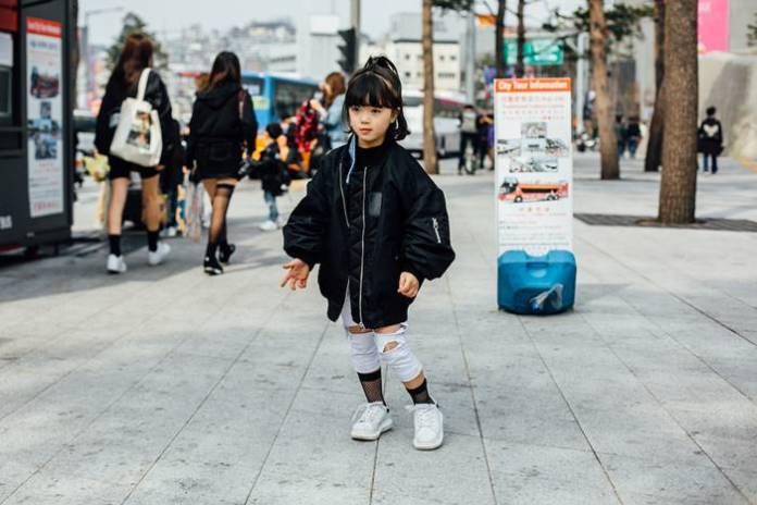 Gaya Fashion streetstyle anak