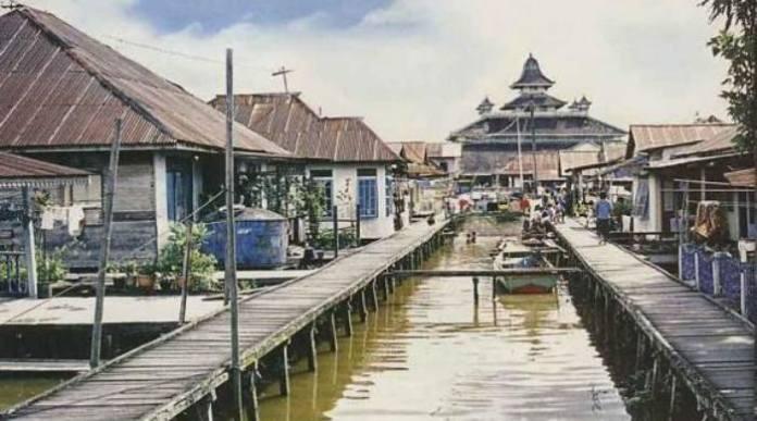Wisata Kampung Beting di Pontianak