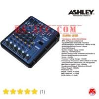 Murah !!Mixer ASHLEY SMR 6 ( 6 channel ) ORIGINAL