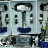 Lampu Depan LED 15/8W 6000K buat motor