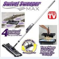 Swivel sweeper MAX alat sapu pel pembersih lantai mop broom organizer