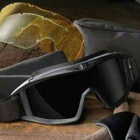 New Goggle REVISION LOCUST Sunglasses w/ Frame Black Smoke
