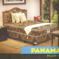 Central Spring Bed DELUXE PILLOWTOP uk 120*200 | hanya mattras