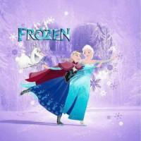 Selimut Bulu Motif Frozen Dancing Ukuran 160 x 220