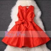 Jual MUBP16 DRESS KOREA PINK A45 Baru | Baju Gaun / Dress Anak Terba