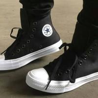 sepatu sport casual converse chuck taylor 2 lunarlon black white