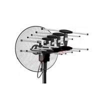 Toyosaki TYS-888SC Antena TV LED LCD Model Parabola + Remote Control