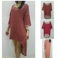 Dress Rajut Cantik Wanita - Supplier Baju Bangkok - Fashion Baju Murah