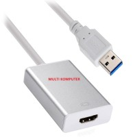 USB 3.0 to HDMI Converter Cable Multi Display Adapter for PC Laptop