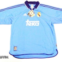 1999-2000 REAL MADRID THIRD ORIGINAL JERSEY Size XL *BNWT*