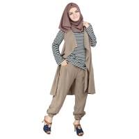 BBL - Busana Muslim Simpel/ Atasan Tunik Wanita/ Raindoz RNY 124