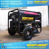 Genset Winpower 3000 Watt Baru, Mesin Generator Murah untuk Rumah