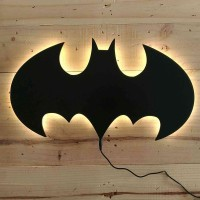 BEST Hiasan Dinding Lampu Tidur Batman