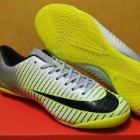 Promo Sepatu Futsal Nike Mercurial Vapor XI Grey